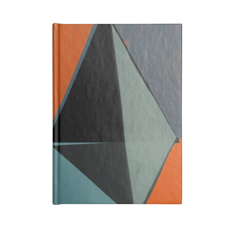Square Diamonds 3 Accessories Notebook by Michael Pfleghaar