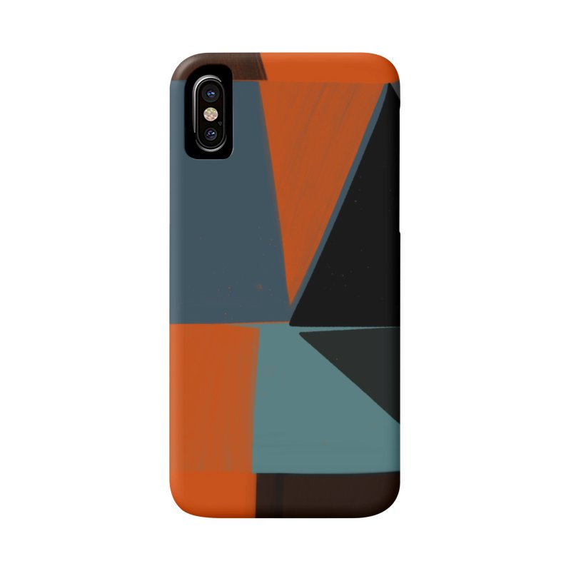 Square Diamonds 3 Accessories Phone Case by Michael Pfleghaar
