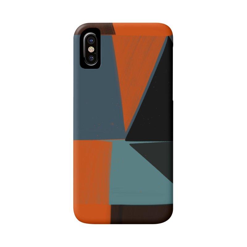 Square Diamonds 3 Accessories Phone Case by Michael Pfleghaar