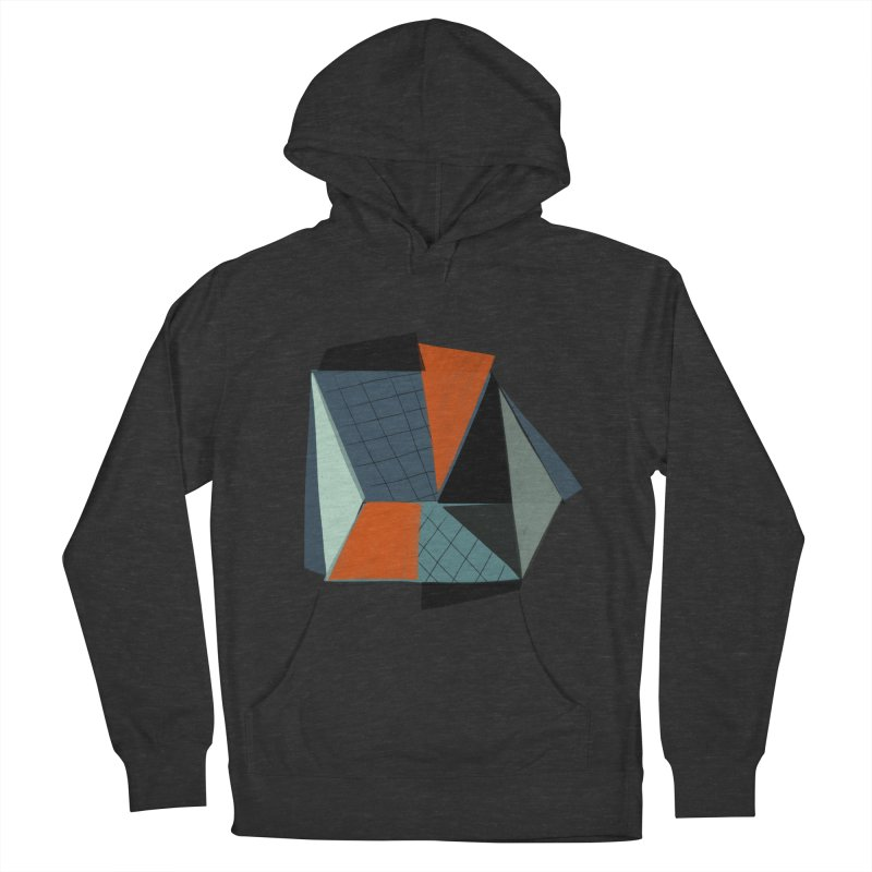 Square Diamonds 3 Women's French Terry Pullover Hoody by Michael Pfleghaar