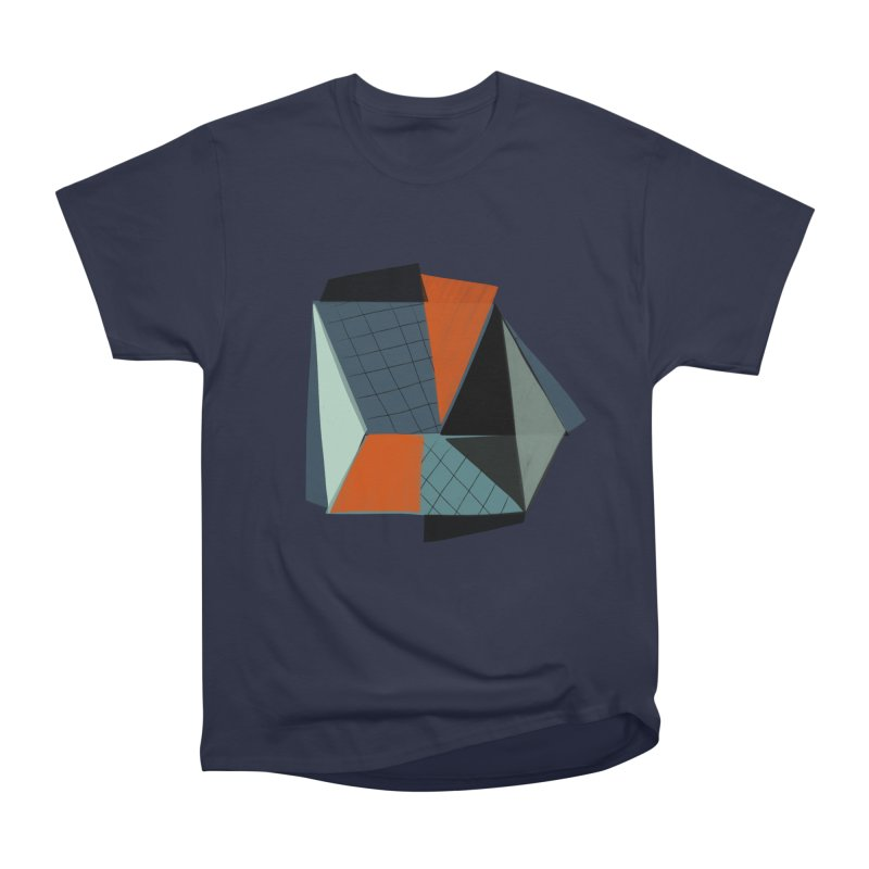 Square Diamonds 3 Men's Heavyweight T-Shirt by Michael Pfleghaar