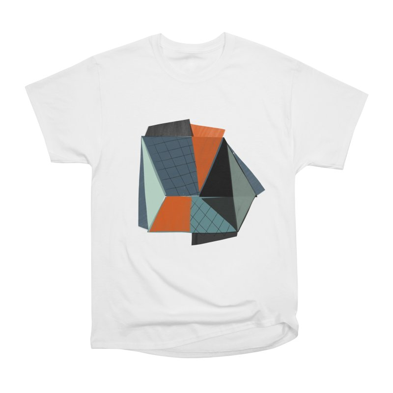Square Diamonds 3 Women's Heavyweight Unisex T-Shirt by Michael Pfleghaar