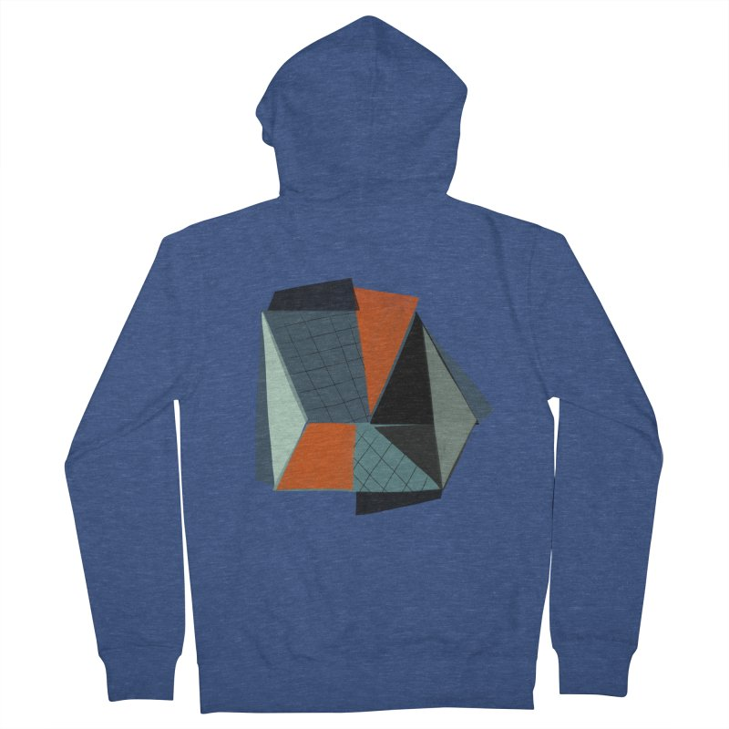 Square Diamonds 3 Women's Zip-Up Hoody by Michael Pfleghaar