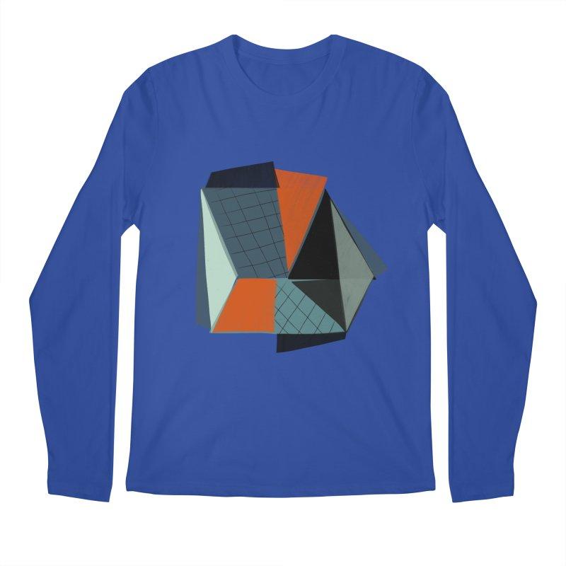 Square Diamonds 3 Men's Regular Longsleeve T-Shirt by Michael Pfleghaar