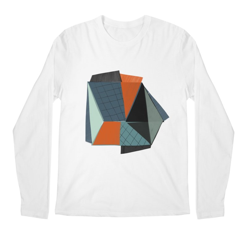 Square Diamonds 3 Men's Longsleeve T-Shirt by Michael Pfleghaar