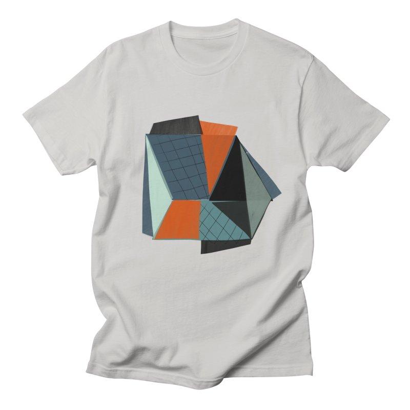 Square Diamonds 3 Men's T-Shirt by Michael Pfleghaar