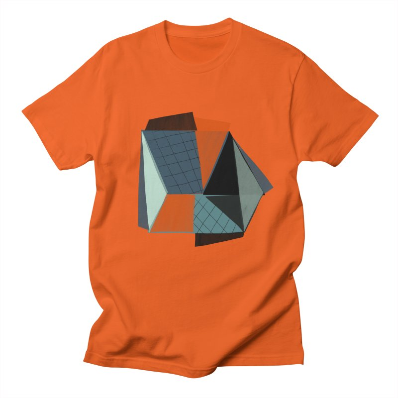 Square Diamonds 3 Women's Regular Unisex T-Shirt by Michael Pfleghaar