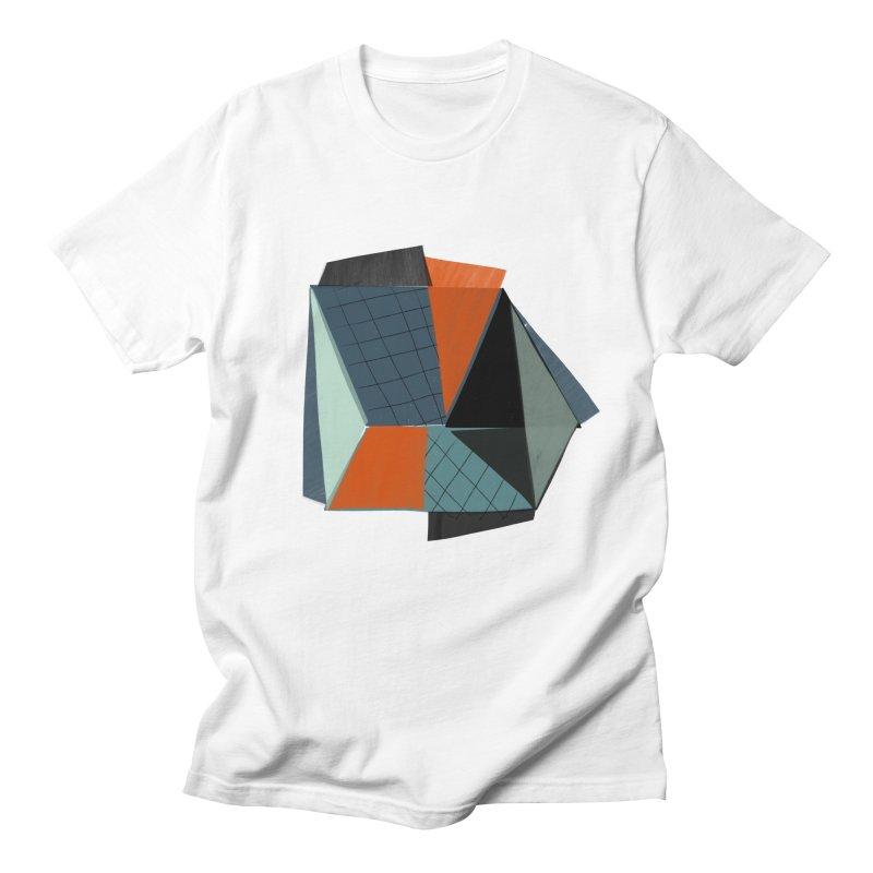 Square Diamonds 3 Men's Regular T-Shirt by Michael Pfleghaar