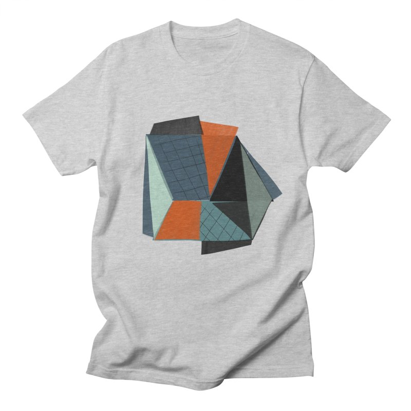 Square Diamonds 3 Men's Regular T-Shirt by Michael Pfleghaar