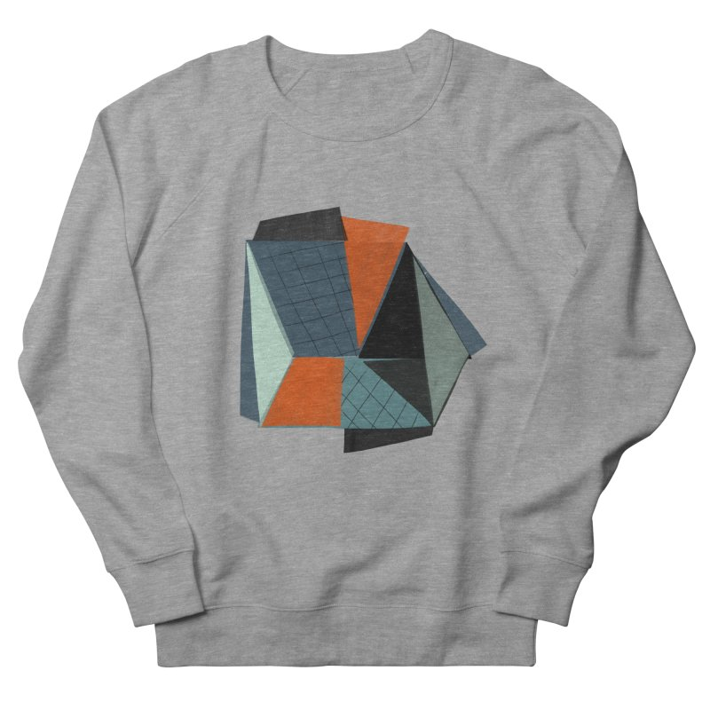 Square Diamonds 3 Women's French Terry Sweatshirt by Michael Pfleghaar