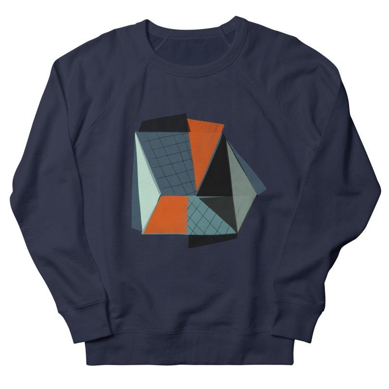 Square Diamonds 3 Men's French Terry Sweatshirt by Michael Pfleghaar