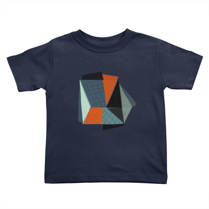 Square Diamonds 3 Kids Toddler T-Shirt by Michael Pfleghaar