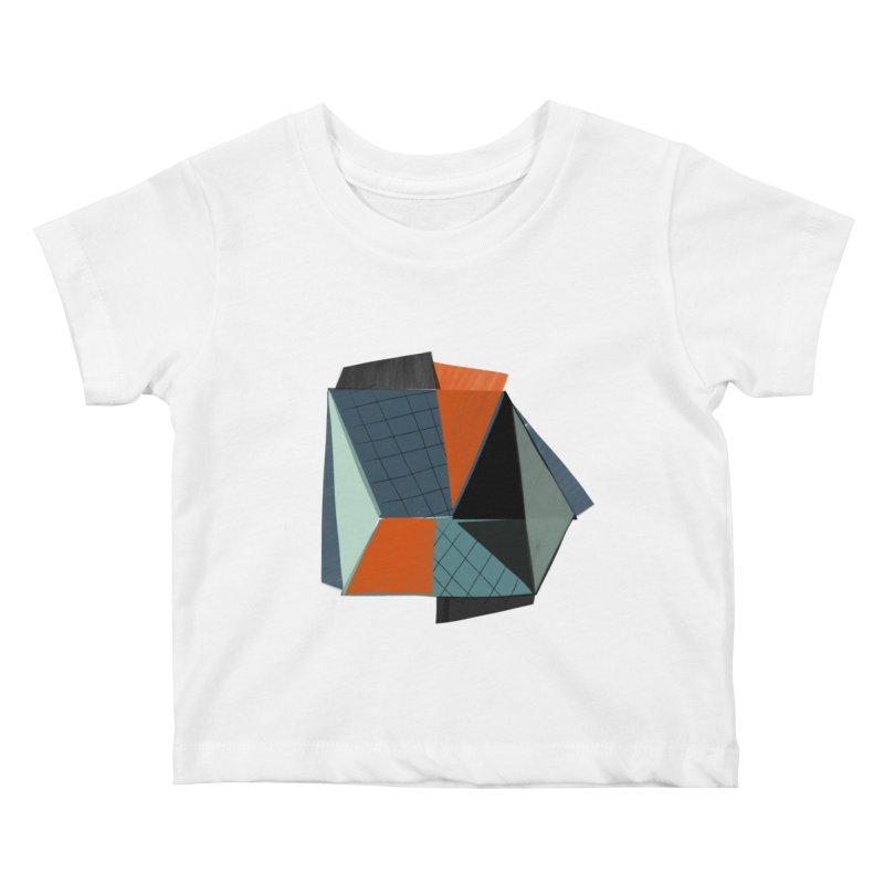 Square Diamonds 3 Kids Baby T-Shirt by Michael Pfleghaar