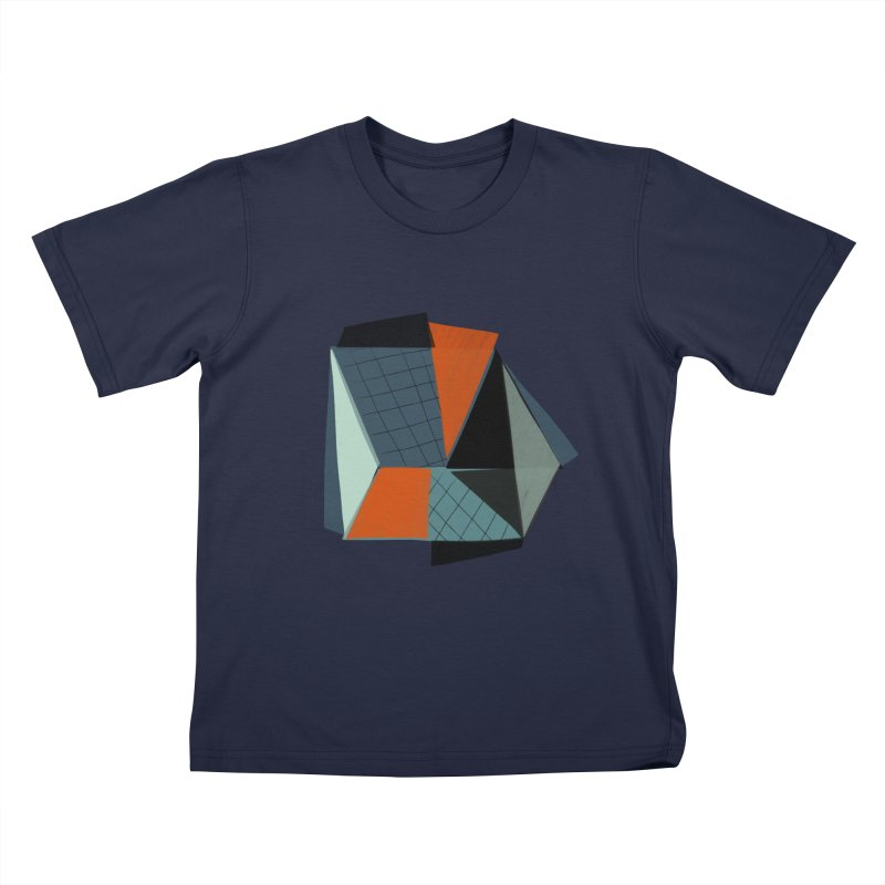 Square Diamonds 3 Kids T-Shirt by Michael Pfleghaar
