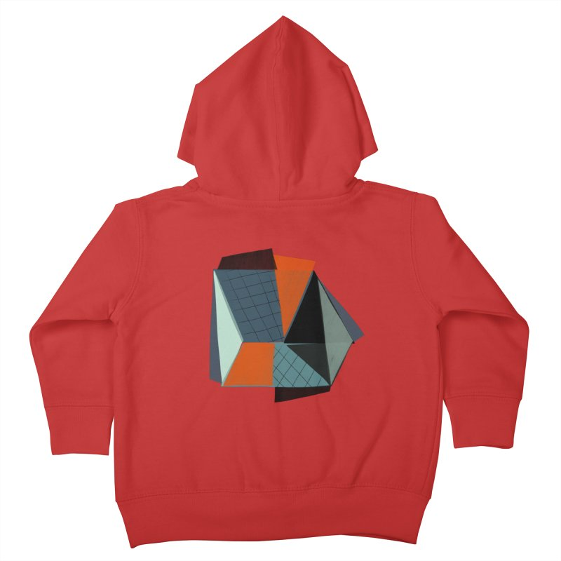 Square Diamonds 3 Kids Toddler Zip-Up Hoody by Michael Pfleghaar