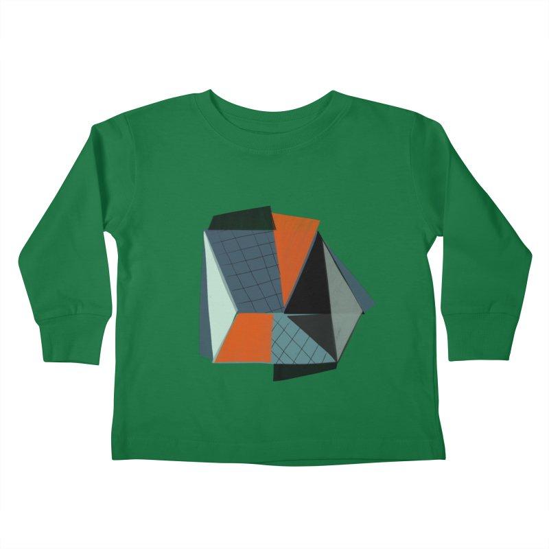 Square Diamonds 3 Kids Toddler Longsleeve T-Shirt by Michael Pfleghaar