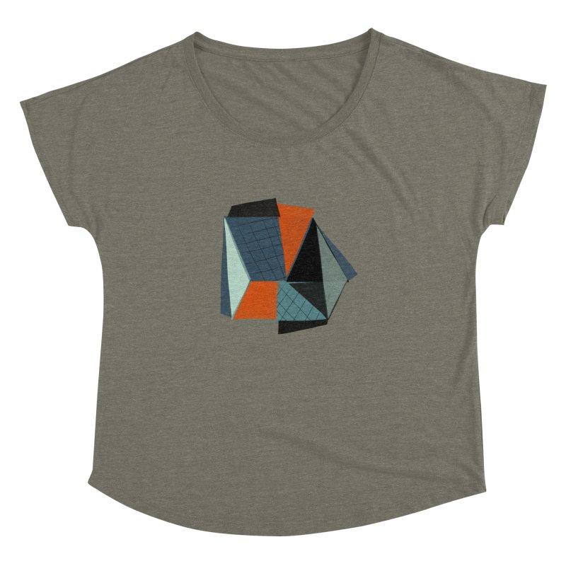 Square Diamonds 3 Women's Dolman by Michael Pfleghaar