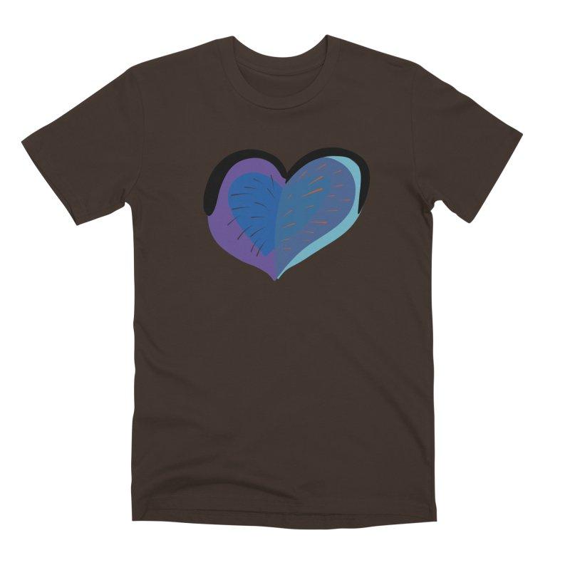 Purple Heart Men's Premium T-Shirt by Michael Pfleghaar
