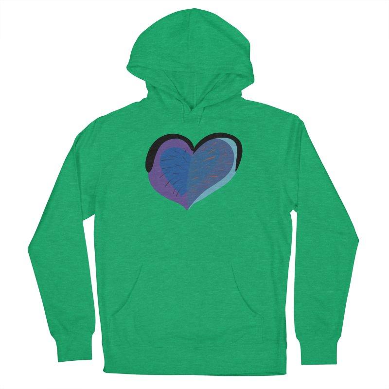 Purple Heart Women's Pullover Hoody by Michael Pfleghaar