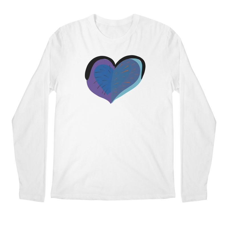 Purple Heart Men's Longsleeve T-Shirt by Michael Pfleghaar