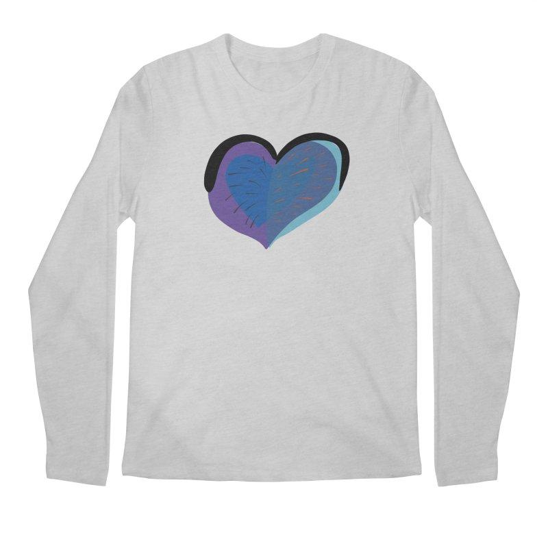 Purple Heart Men's Regular Longsleeve T-Shirt by Michael Pfleghaar