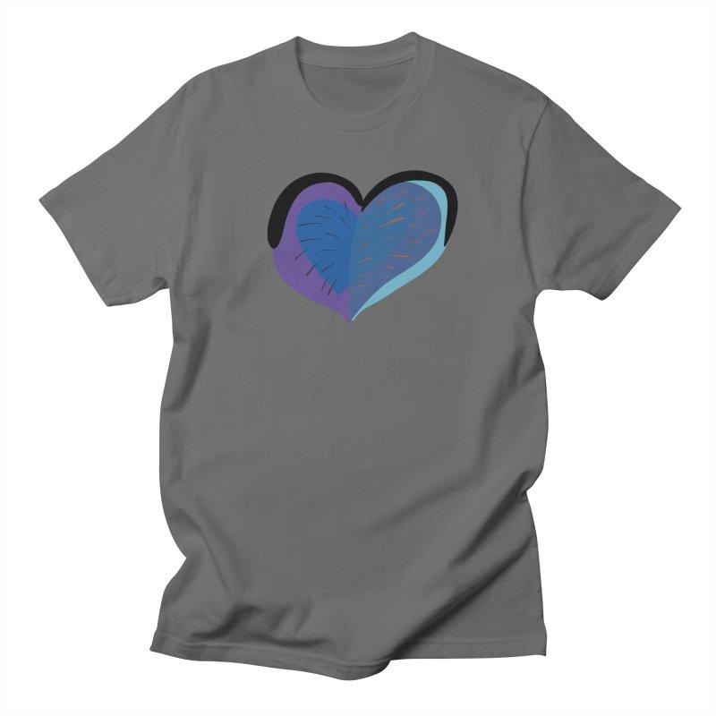 Purple Heart Men's Regular T-Shirt by Michael Pfleghaar