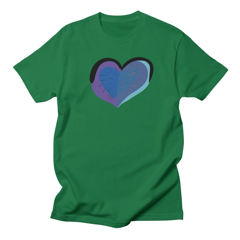 Purple Heart Men's Regular T-Shirt by Michael Pfleghaar