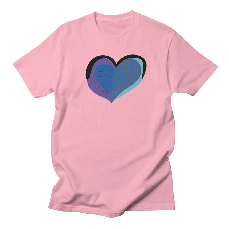Purple Heart Women's Regular Unisex T-Shirt by Michael Pfleghaar