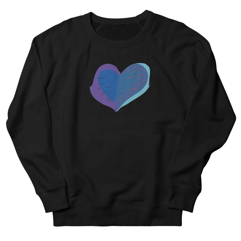 Purple Heart Men's French Terry Sweatshirt by Michael Pfleghaar