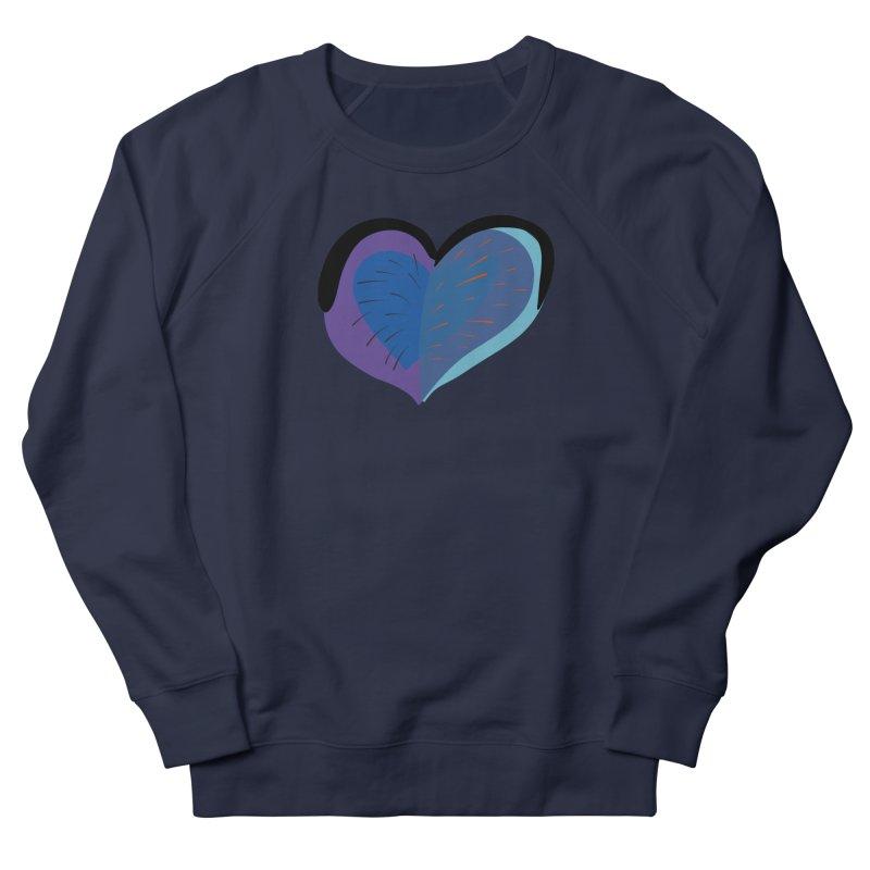 Purple Heart Men's French Terry Sweatshirt by Michael Pfleghaar