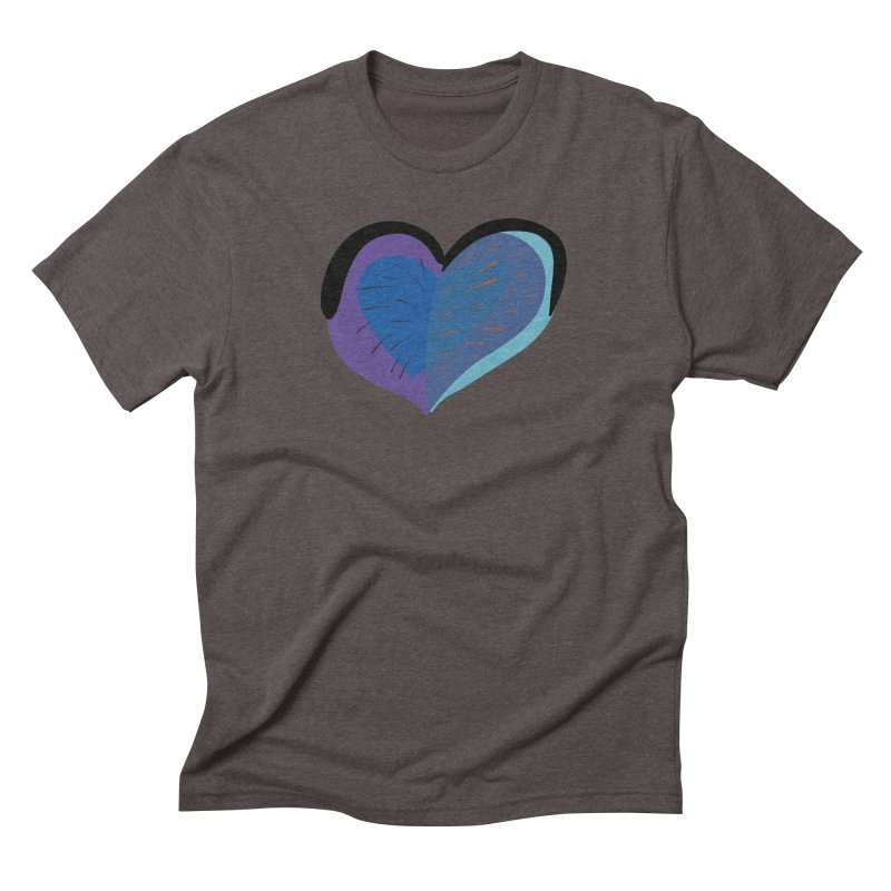 Purple Heart Men's Triblend T-Shirt by Michael Pfleghaar