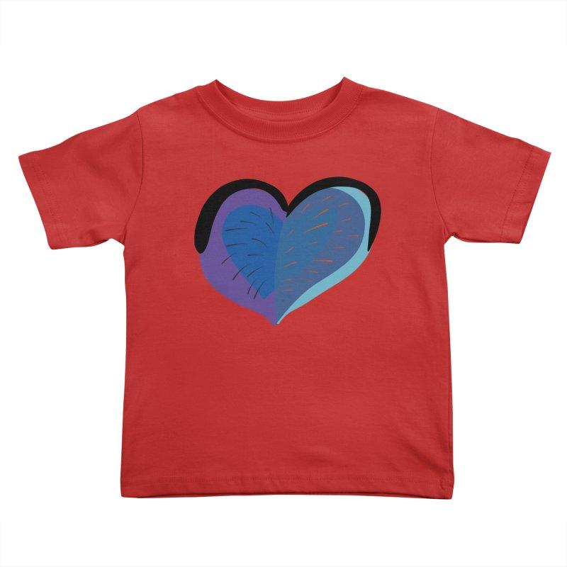 Purple Heart Kids Toddler T-Shirt by Michael Pfleghaar