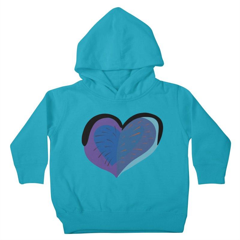 Purple Heart Kids Toddler Pullover Hoody by Michael Pfleghaar