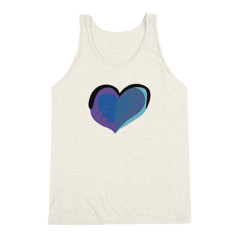 Purple Heart Men's Triblend Tank by Michael Pfleghaar