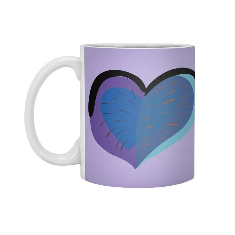 Purple Heart Accessories Mug by Michael Pfleghaar