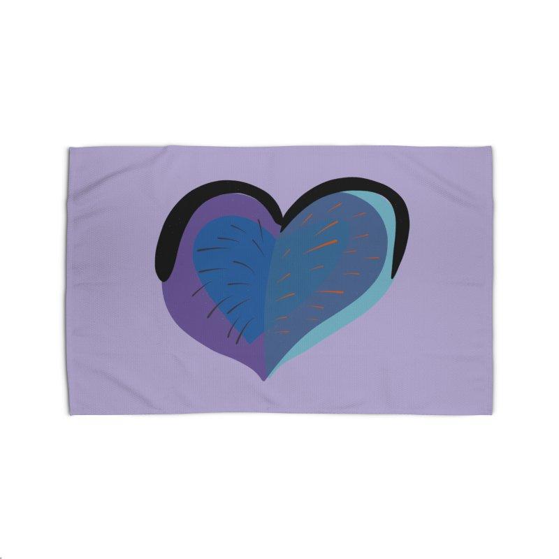Purple Heart Home Rug by Michael Pfleghaar