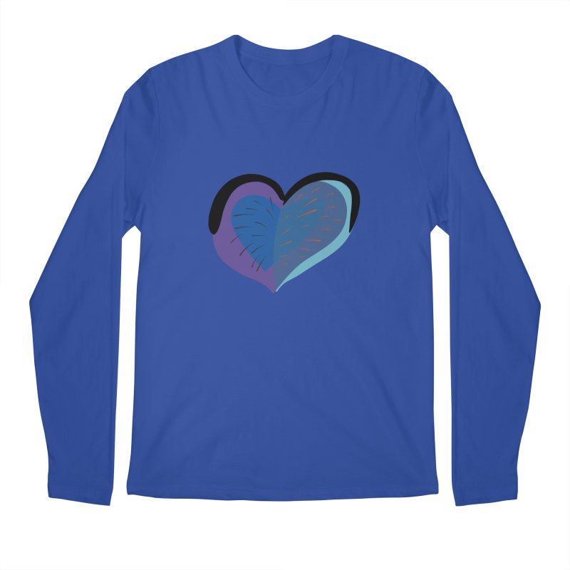 Purple Heart Men's Regular Longsleeve T-Shirt by Michael Pfleghaar