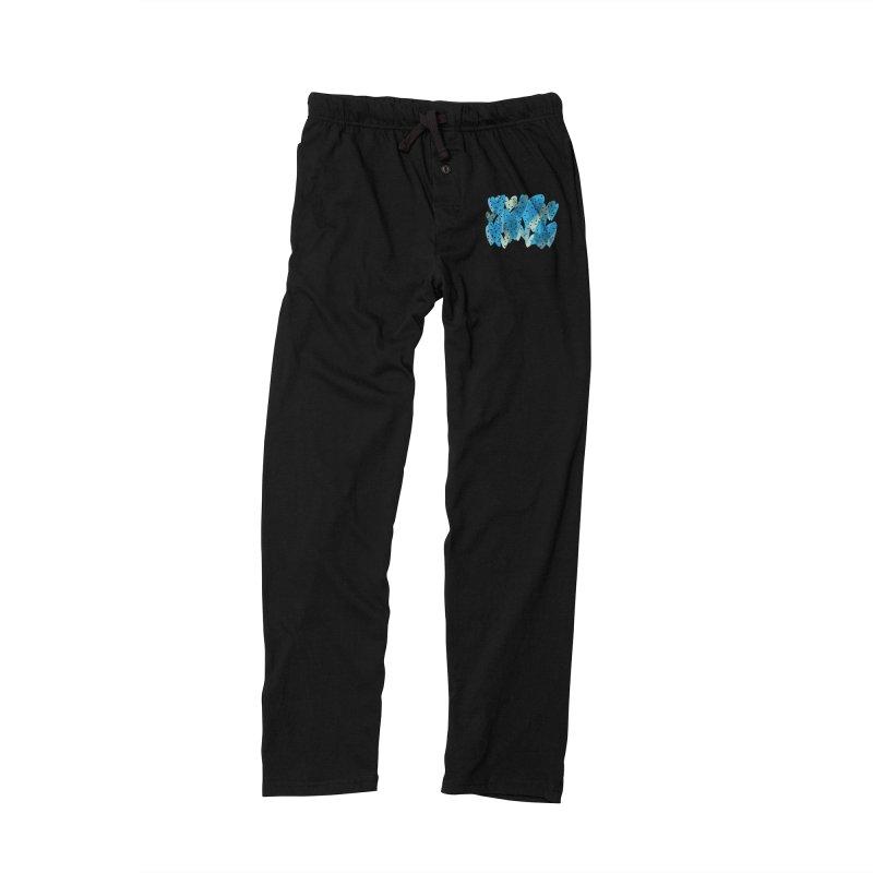 Blue Hearts Men's Lounge Pants by Michael Pfleghaar