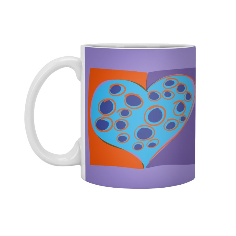 Spotted Heart Accessories Mug by Michael Pfleghaar