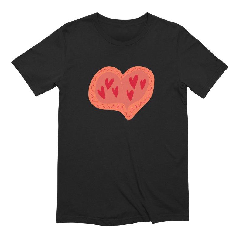 Heart of Hearts Men's Extra Soft T-Shirt by Michael Pfleghaar