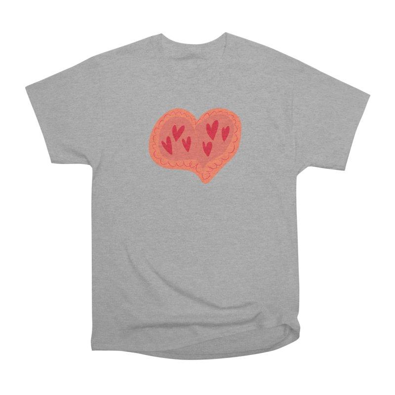 Heart of Hearts Women's Heavyweight Unisex T-Shirt by Michael Pfleghaar
