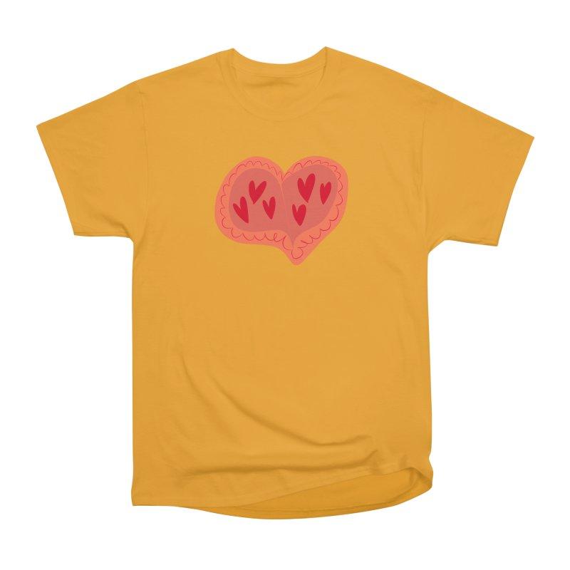 Heart of Hearts Men's Heavyweight T-Shirt by Michael Pfleghaar