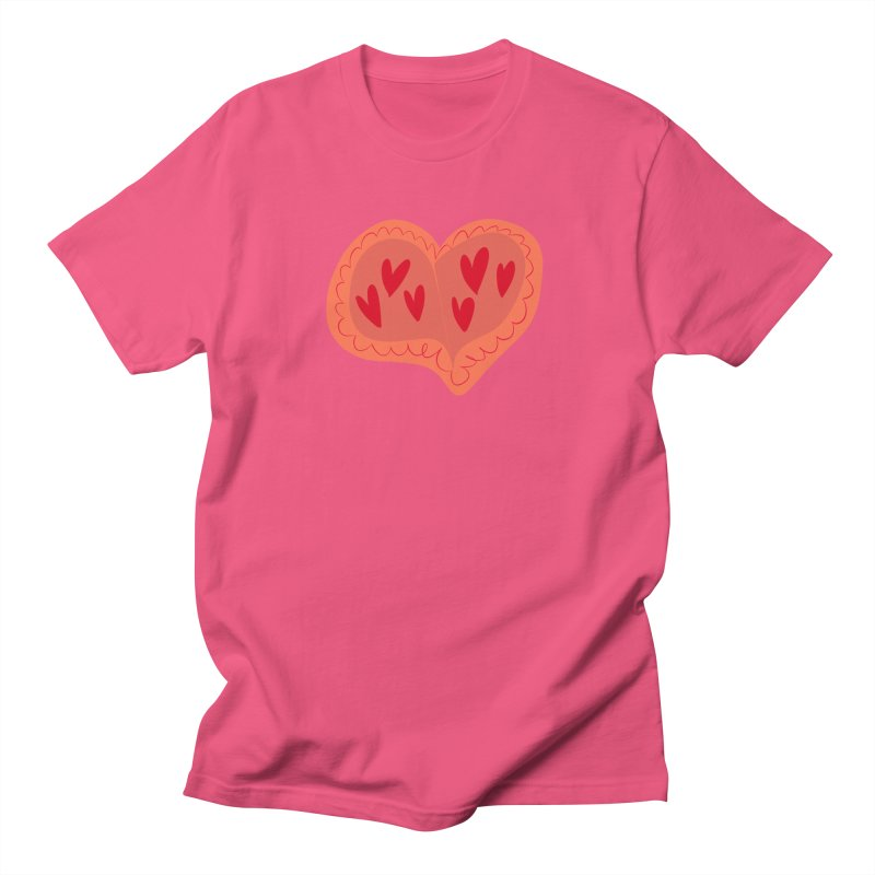 Heart of Hearts Women's Regular Unisex T-Shirt by Michael Pfleghaar