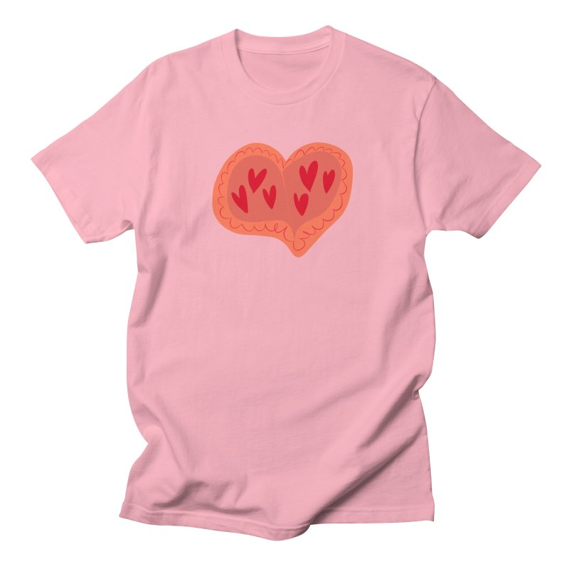 Heart of Hearts Men's Regular T-Shirt by Michael Pfleghaar