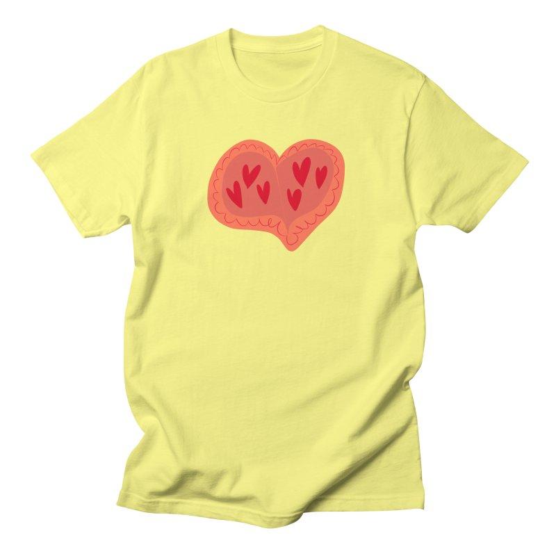 Heart of Hearts Women's Unisex T-Shirt by Michael Pfleghaar