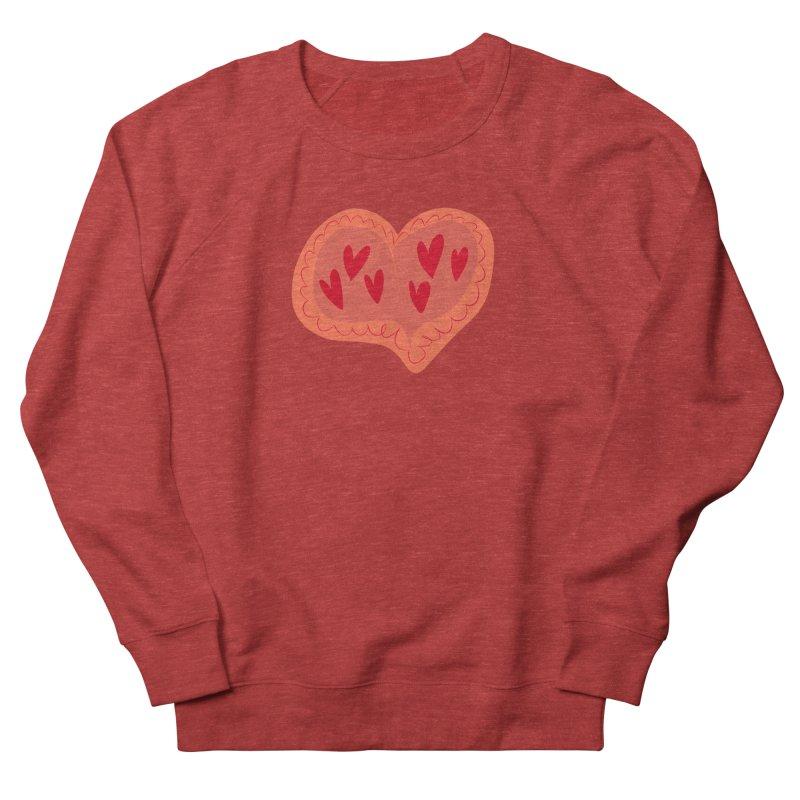 Heart of Hearts Women's French Terry Sweatshirt by Michael Pfleghaar
