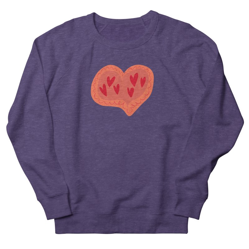 Heart of Hearts Men's French Terry Sweatshirt by Michael Pfleghaar
