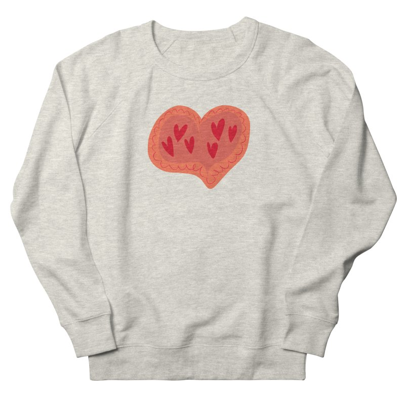 Heart of Hearts Men's French Terry Sweatshirt by Michael Pfleghaar