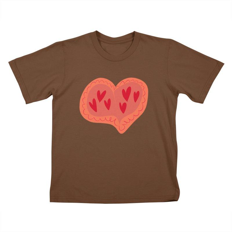 Heart of Hearts Kids T-Shirt by Michael Pfleghaar
