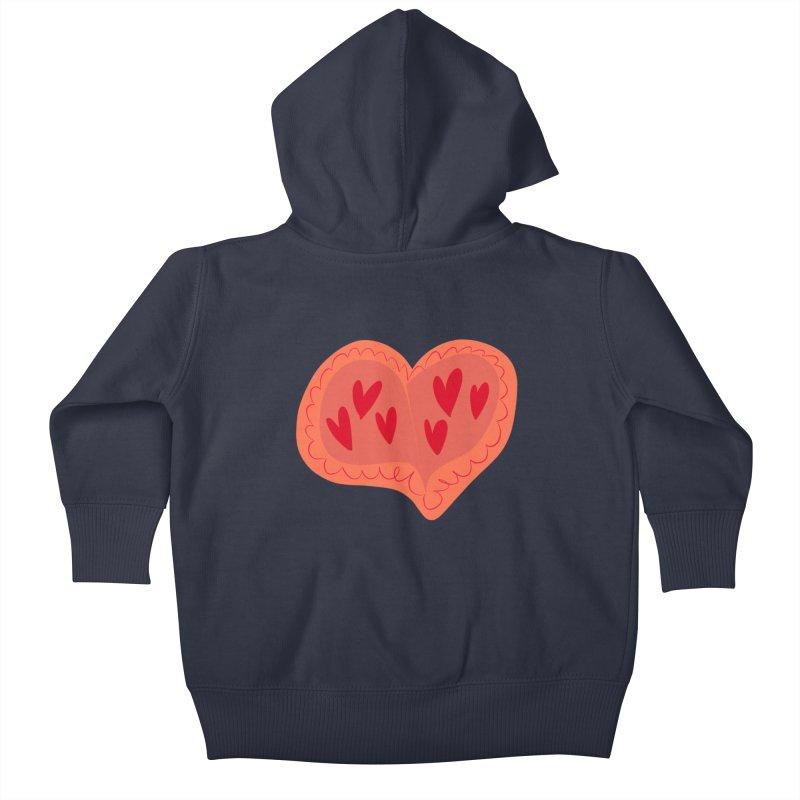 Heart of Hearts Kids Baby Zip-Up Hoody by Michael Pfleghaar